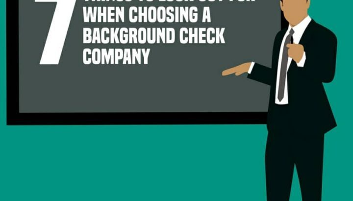 What Do You Need To Consider When You Are Looking for a Background Check Service?